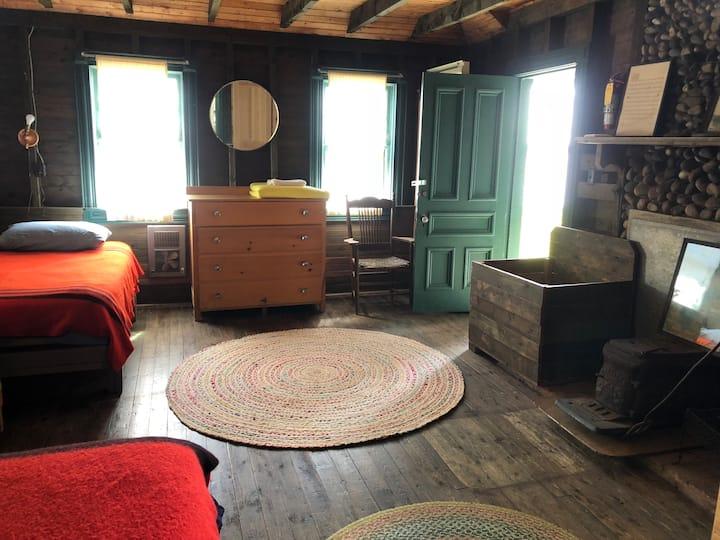 Blue Room at Wishart's Point Lodge