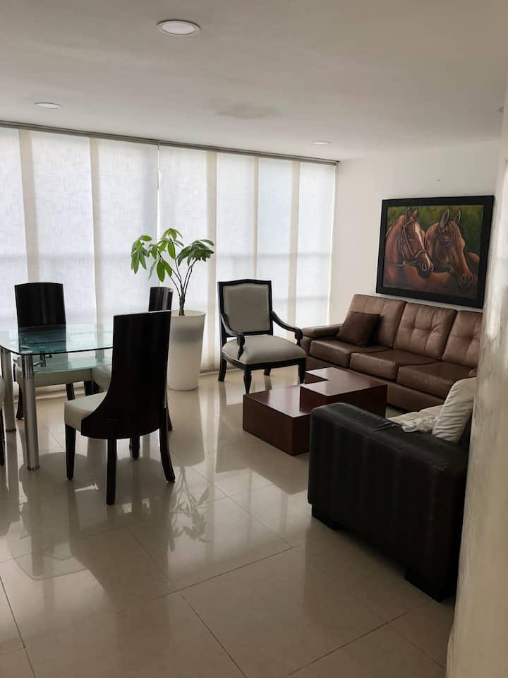 Apartamento amoblado con Excelente ubicación