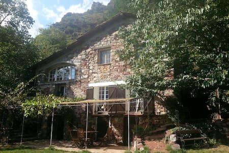La bergerie du Cians/Chambre d'hôte - Pierlas - House