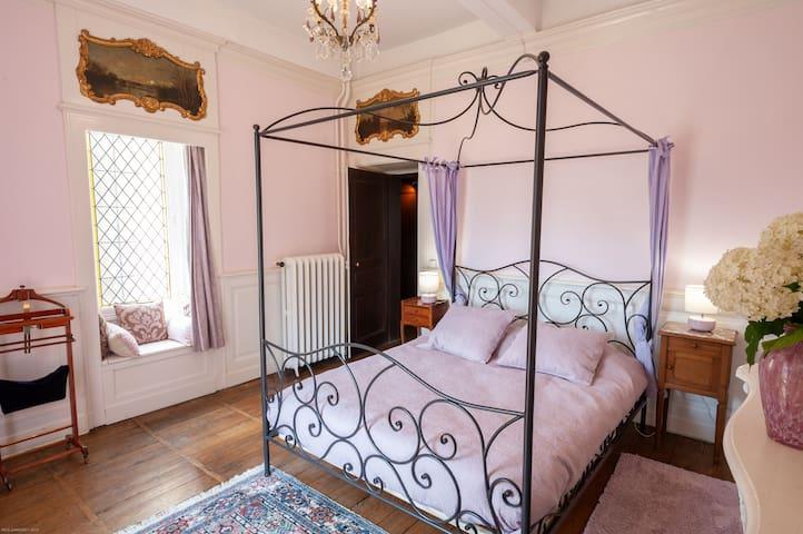 Honeymoon Suite at Chateau Ribagnac