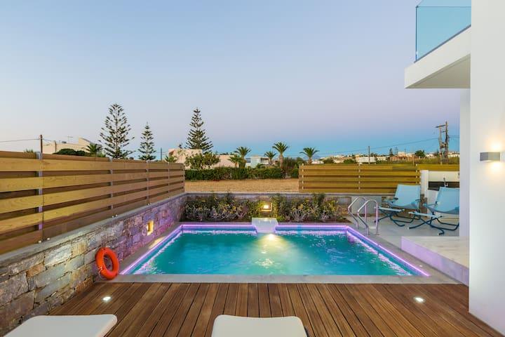 Thalasses Villas - Villa Melia by the beach!