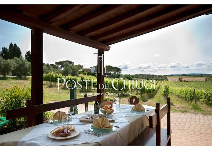 Poste del Chiugi: Lodge - Castiglione del lago - House