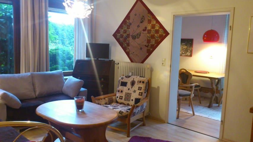 Kuscheliges Appartement im Grünen - Leinsweiler - Apartamento