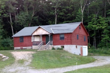 Large Log Cabin plus 350 Acres - Colebrook