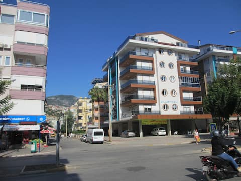Apartment 1+1 Alanya,150 m from the beachCleopatra