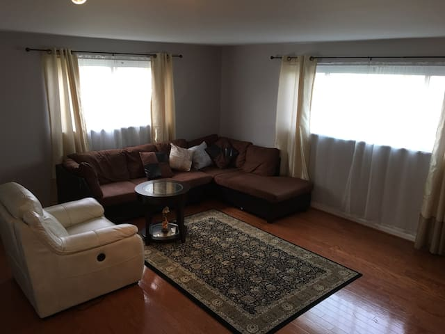 Cozy room with private bathroom - Silver Spring - Huis