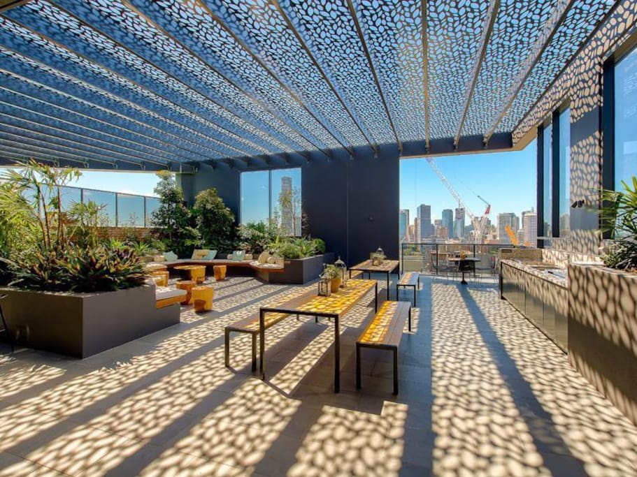 BBQ Area on Roof Top