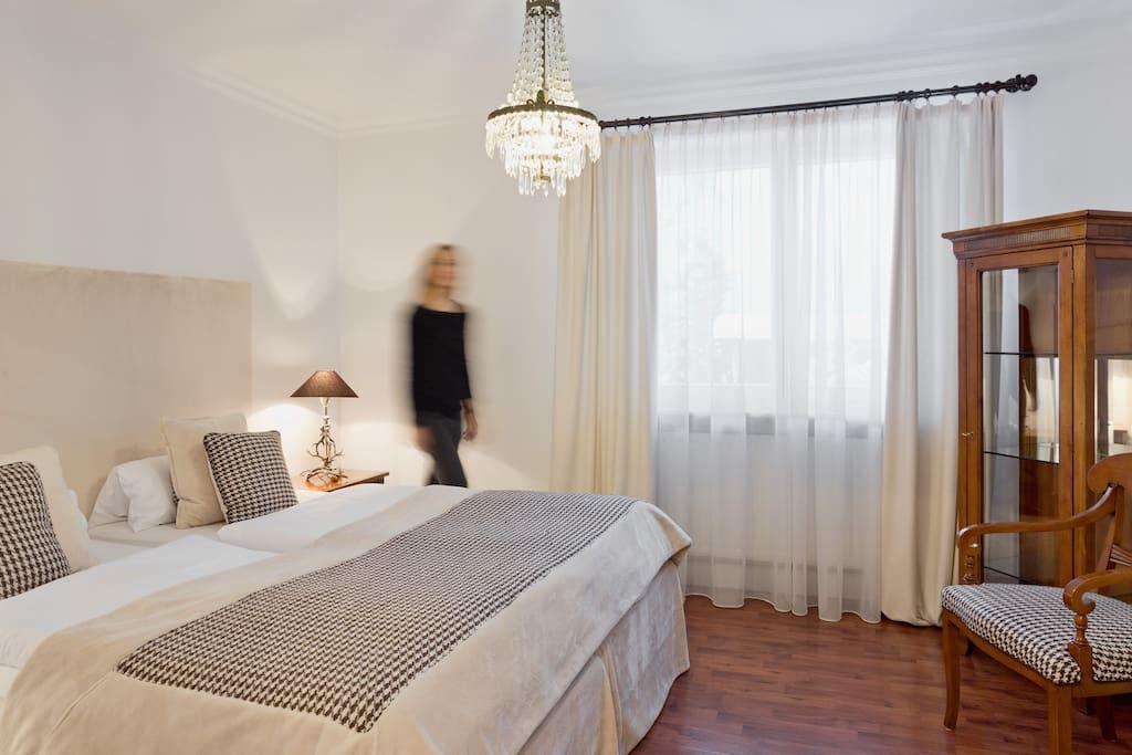 Eines unserer gemütlichen Zimmer ohne Balkon