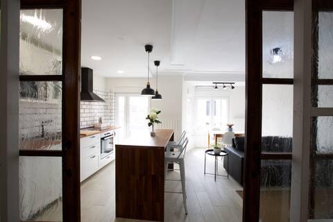 Ubicación excelente y apartamento tranquilo.