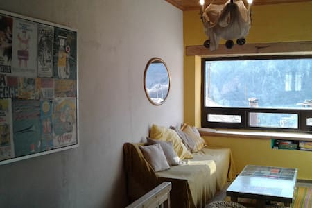 COSY AND COMFORTABLE LITTLE HOUSE WITH GREAT VIEW - Megalo Chorio - Huis