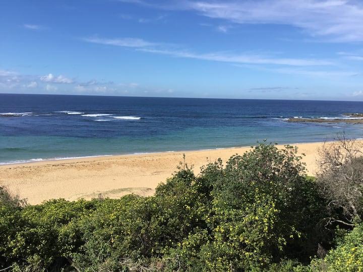 Voted top ten surfing beach in Australia