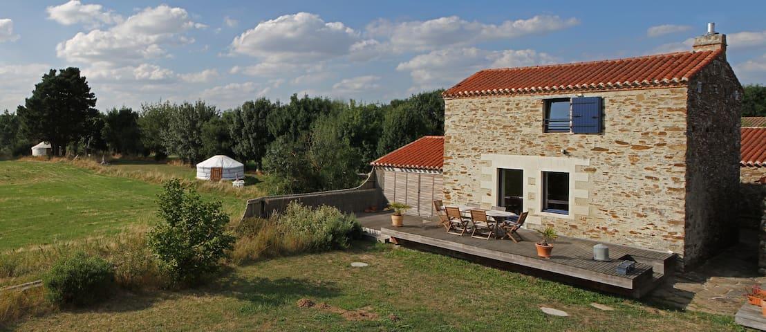 Chambres en bords de Loire - La Varenne - Huis