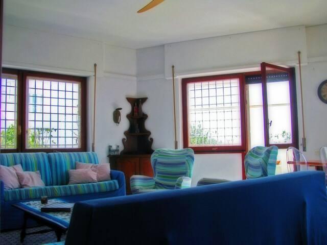 Santa Severa fronte mare 7 posti letto