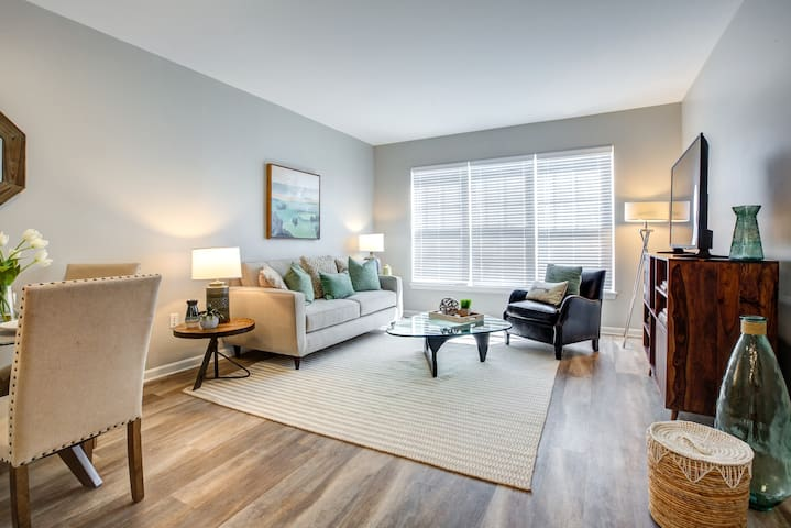 Live + Work + Stay + Easy | 2BR in Canton