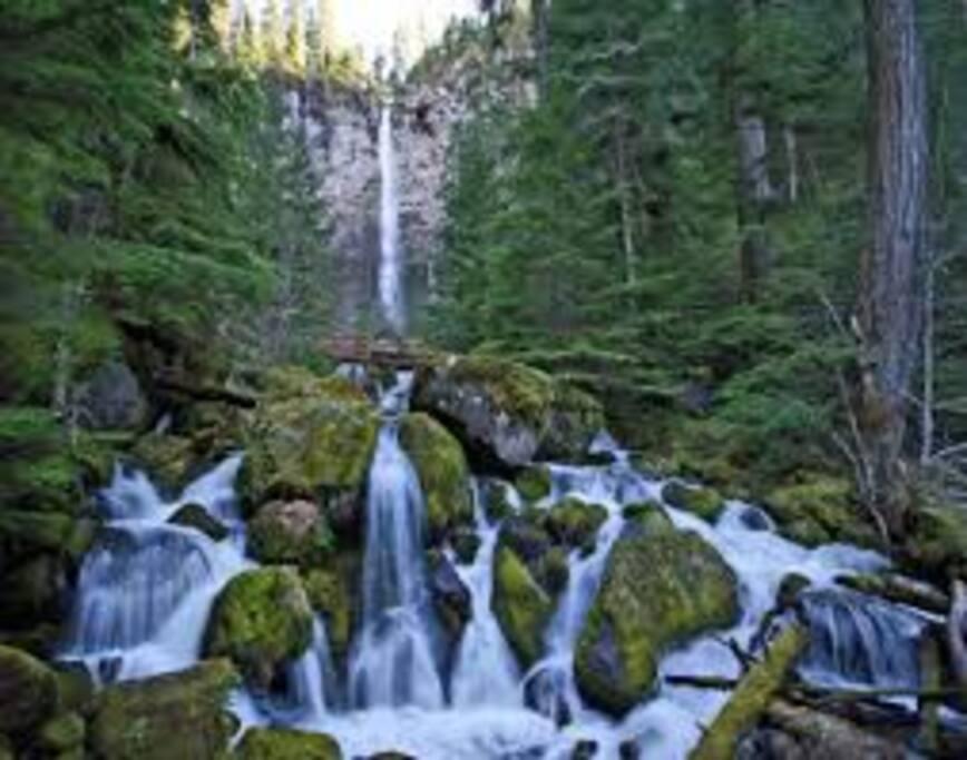 The amazing Watson Falls
