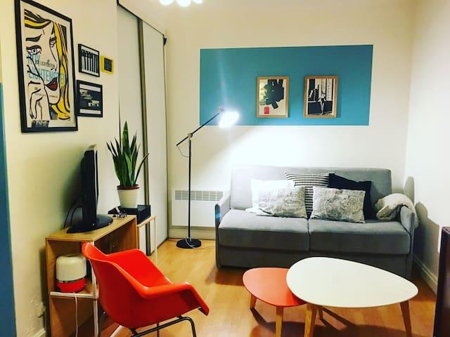 Charmant Studio au cœur du 11 eme - Paris - Apartemen