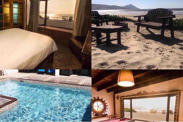 La Haciendita Beachfront House + prívate pool