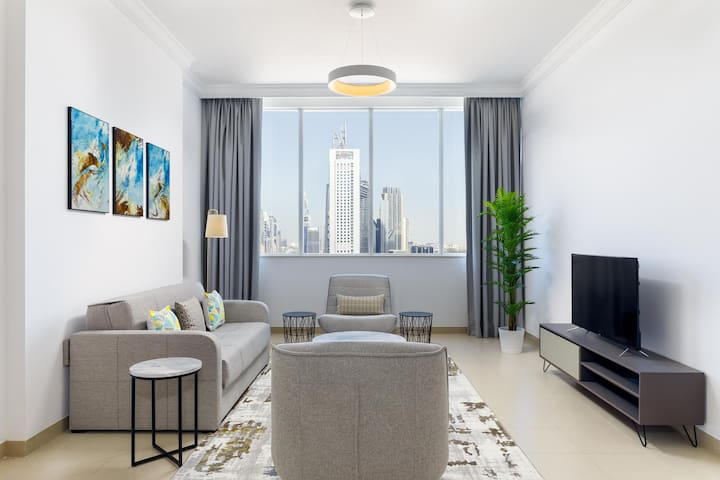 Premium Apt in the Heart of the City with Burj Views