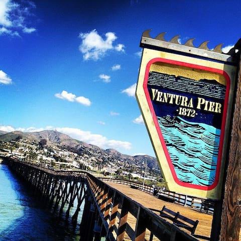Ventura Beachie Bungalow - Ventura - Huis