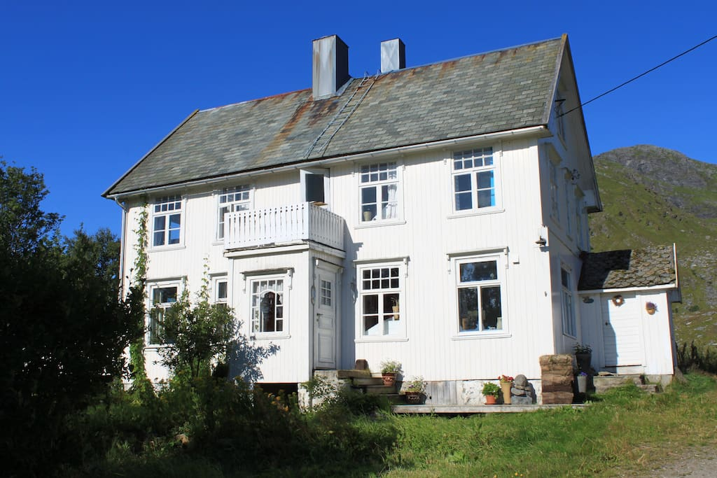 Våningshus på gården Nordre Moland