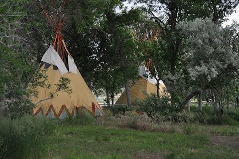 Tipi Camp site