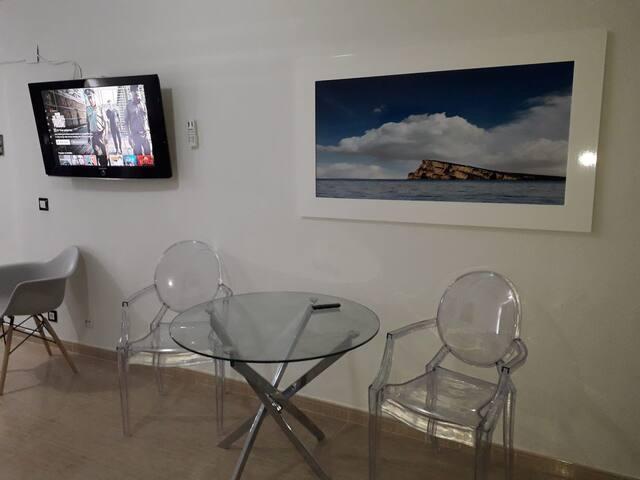 Estudio equipado en pleno centro de Benidorm