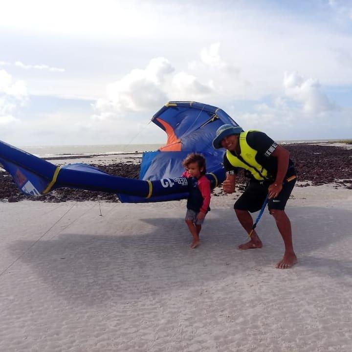Hostel kite life -algodoal Maracanã PA