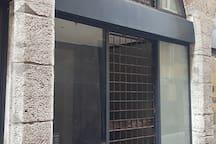 entrée de l'immeuble accès à l'appartement
