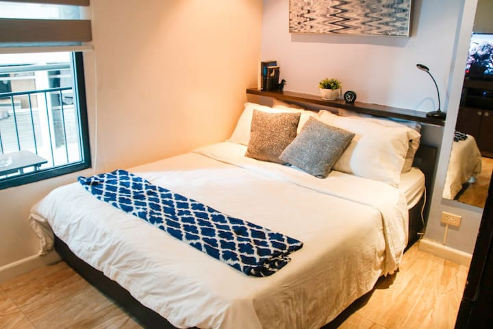 Soothing Studio Aartment in Ortigas @Indigo