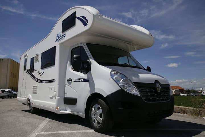 Autocaravana Premium con TODO incluido