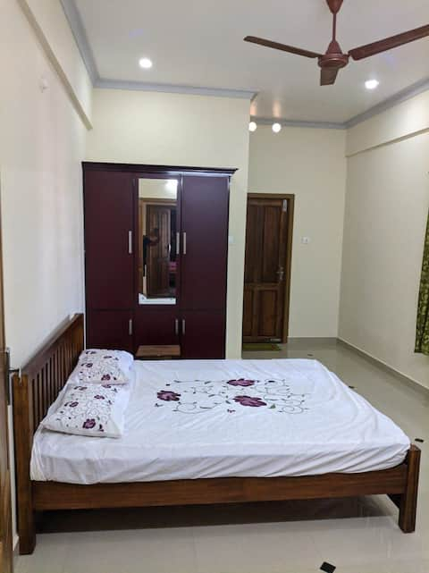 Fully furnished 2bhk apartment in kanjirapally