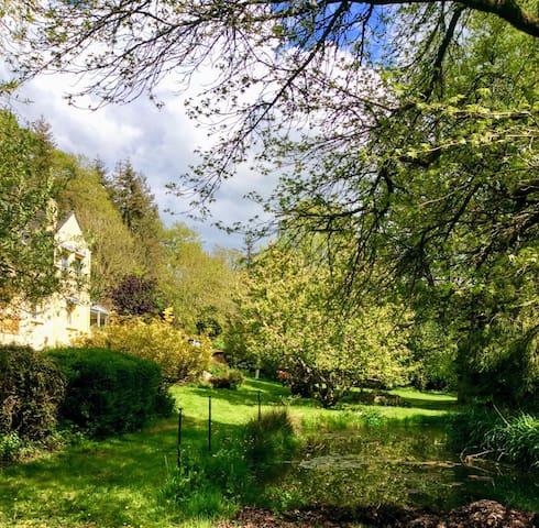 Le parc de Lywel à Rochefort enTerre