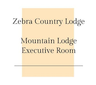 Zebra Country Lodge - Mountain Lodge / Executive
