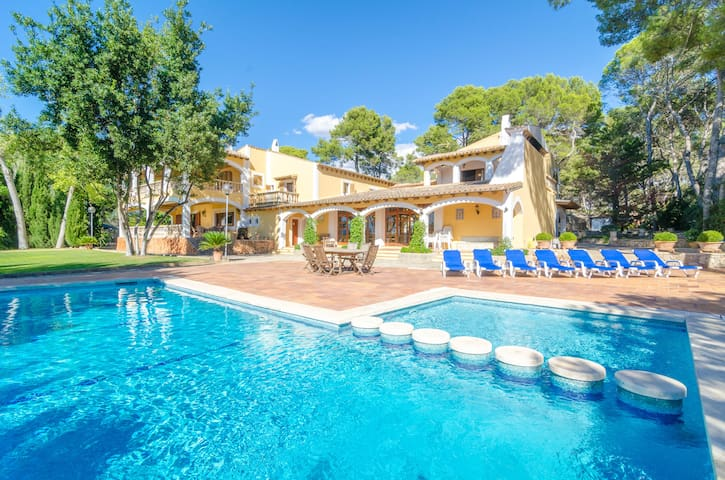 PINAR DE SON POU - Villa for 12 people in Palma de Mallorca - Sant Jordi.