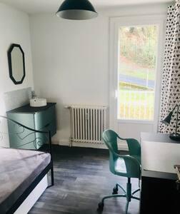Chambre privée dans un appartement de voyageurs