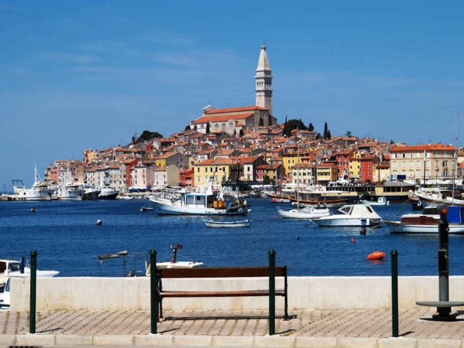 Beautiful old town of Rovinj