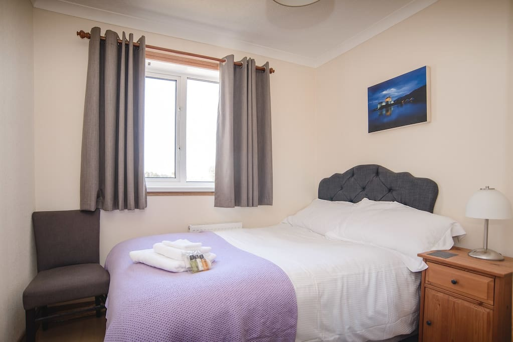 The third bedroom - a small double, suitable for 1 person