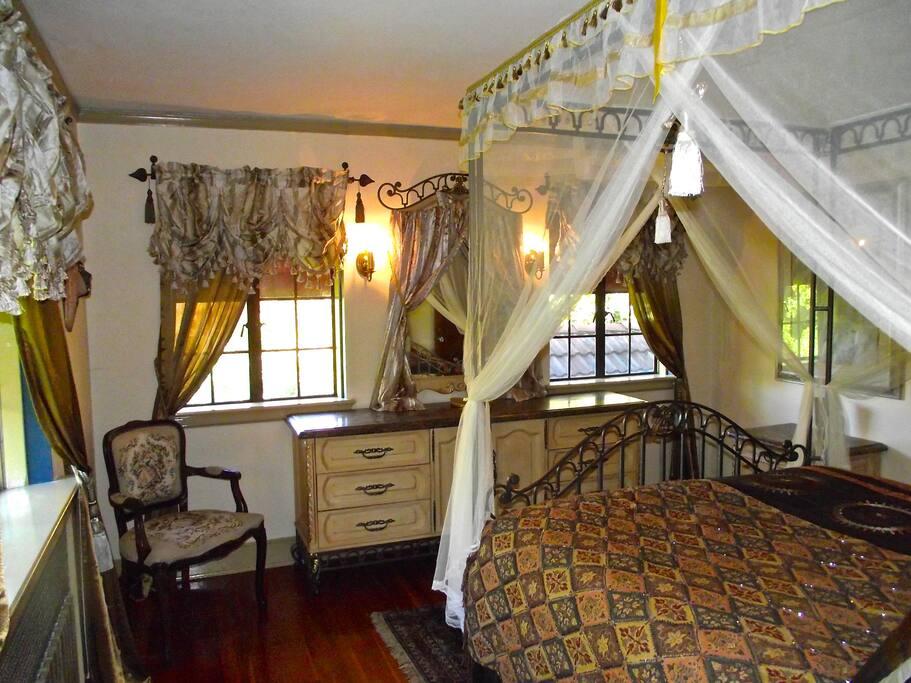 "The ""Lady of Shalott"" Room."