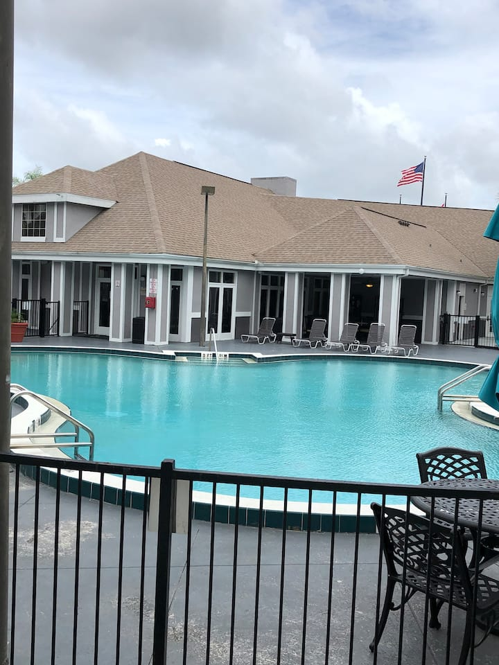 Villa adjacent to Pool in Kissimmee #01113
