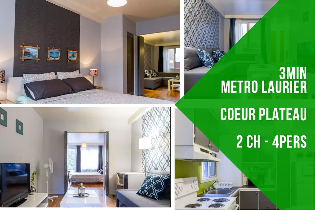 1 br, heart of Plateau, metro 2 min - Apartments for Rent ...
