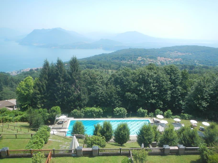panorama e piscina