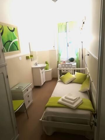 Emerald Room- B&B Cornelia House - Near Vatican