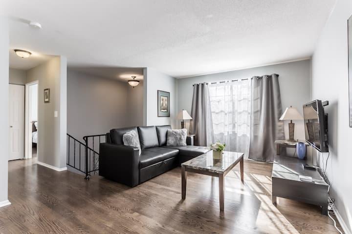 Comfortable and elegant 3BDR duplex - unit #2