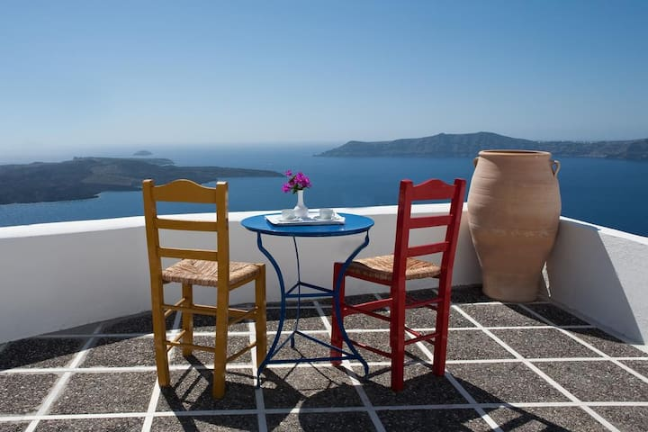 Superior Suite with caldera view in Firostefani D - Thira - Wikt i opierunek