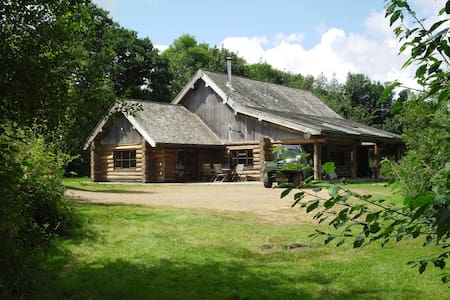 Tamarack lodge  Self Catering cabin at fyfett farm - Otterford - Blockhütte