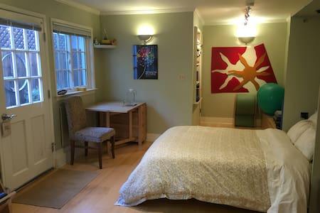 Private studio unit with full bath-no kitchen - San Rafael - Autre