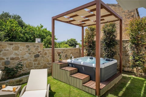 Doro Silver Villa With Private Jacuzzi, Drapanias Chania