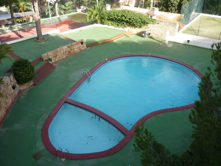 loft con piscina en zona Illetas,  cerca playa