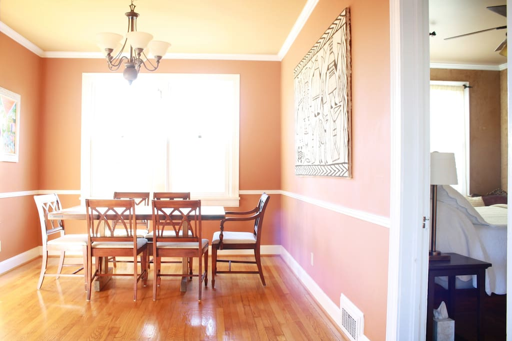 Dining area next to Bedroom 1.