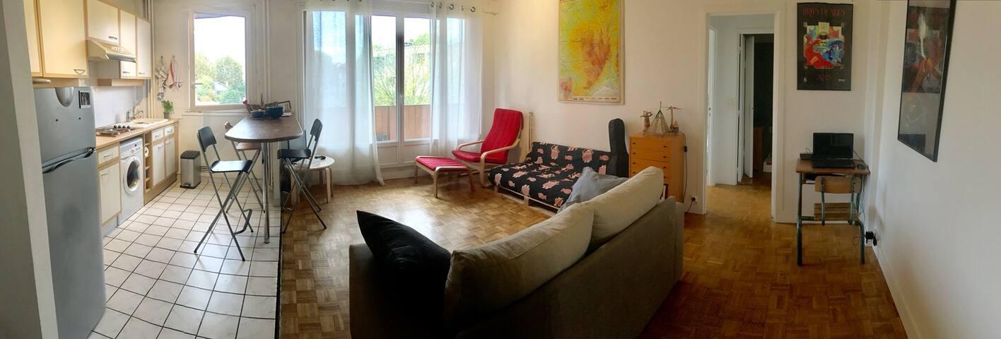 Appartement cosy aux portes de Paris